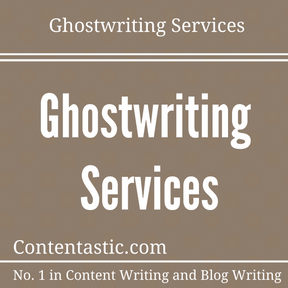 Professional ghostwriting services