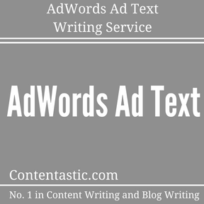 AdWords Ad Text Writing Service