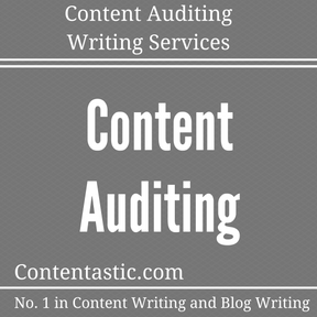 Content Auditing Writing Services