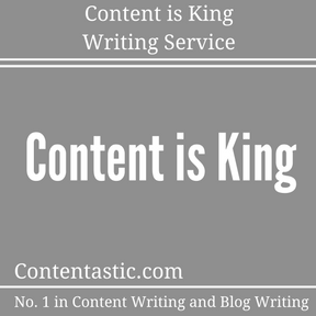 Content is King Writing Service