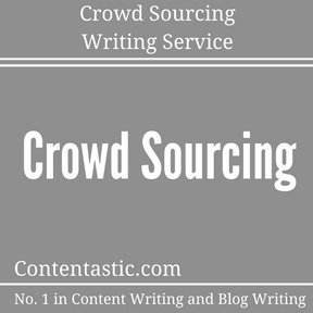 Crowd Sourcing Writing Service