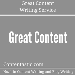 Great Content Writing Service