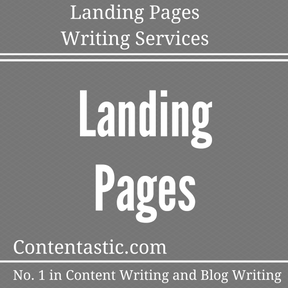 Landing Pages t Writing Services