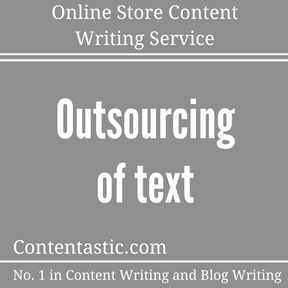 Online Store Content Writing Service