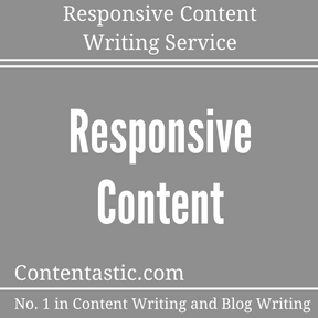 Responsive Content Writing Service