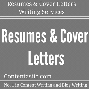 Resumes & Cover Letters Writing Services