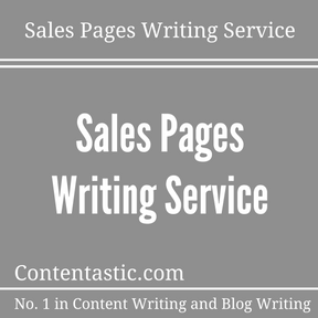 Sales Pages Writing Service