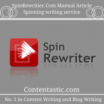 SpinRewritier.Com Manual Article Spinning